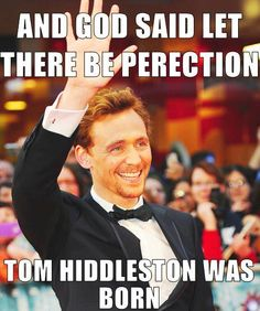 and so tom hiddleston was born
