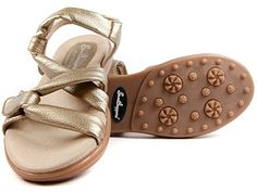 Sandbaggers Grace Women's Golf Sandal * Don't get left behind, see this great product : Athletic Shoes