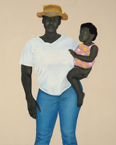 """""""I'm depicting the many people who existed in history but whose presence was never documented,"""" Amy Sherald explains."""