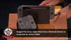 Com direito a Miyamoto tocando a música tema de Mario no violão.  #SuperMarioRun #Switch #Zelda #BreathOfTheWild #JimmyFallon