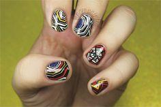 Math Is Fun: Geometric Nail Art Roundup - NAILS Magazine