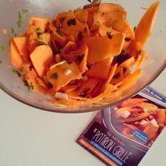 #potiron #fauxmage #persil et #cacahuète #vegan #glutenfree