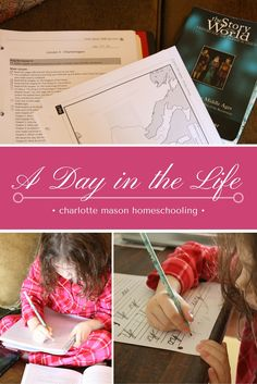 A Day in the Life - Charlotte Mason Homeschooling.