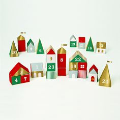 Adventskalender | Meri Meri | Advent | Vorweihnachtszeit | Weihnachten | benbino | www.benbino.com
