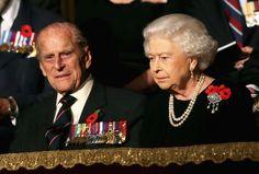 Reina Elizabeth y duque de Edimburgo