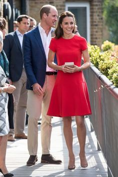 YoungMinds Mental Health Charity Helpline, London - August 25 2016 The Duke and Duchess of Cambridge