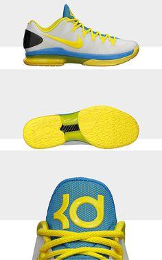 Oklahoma City KD V Elite Shoes