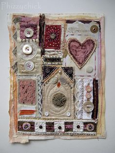 A Mixed Media Romance by Phizzychick!, via Flickr