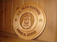 US Park Ranger Badge