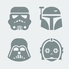 star wars decals or stencils Star Wars Birthday, Star Wars Party, Portrait Silhouette, Vinyl Projects, Projects To Try, Images Star Wars, Anniversaire Star Wars, Stencils, Star Wars Crafts