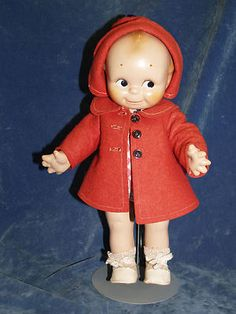 Cute All Original Rose O'Neill Composition Kewpie Doll | eBay