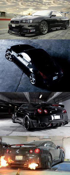 Nissan GTR Black by 360 Forged