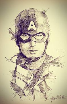 Marvel Avengers 718957527996239170 - ArtStation – Avengers pencil sketch, BaoHoa Pham Source by hassaninadoum Captain America Drawing, Captain America Art, Marvel Avengers, Marvel Art, How To Draw Avengers, Captain Marvel, Pencil Art Drawings, Art Drawings Sketches, Pencil Sketch Drawing