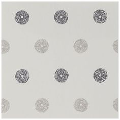 Shop for Wallpaper at Style Library: Zinnia by Harlequin. A simple circular motif. Harlequin Wallpaper, Stunning Wallpapers, Zinnias, Pattern Paper, Print Patterns, Design, Collection, Fabrics, Home Decor