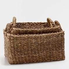 Image of the product RECTANGULAR PLANT-FIBRE BASKET