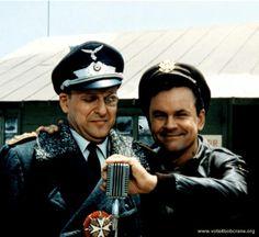 Colonel Klink and Colonel Hogan