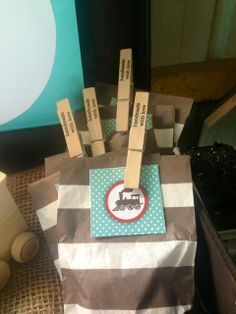 Vintage Trains Birthday Party Favors!  See more party ideas at CatchMyParty.com!