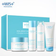 47.10$  Buy here - http://ali5zz.shopchina.info/go.php?t=32804736221 - WIS qing xi bright skin suit Hydrating moist containment regulate carry bright color of skin authentic men's and women's skin ca  #magazineonlinebeautiful