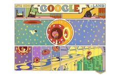 Today's interactive Google Doodle commemorates Little Nemo, the main character in the comics strips of Winsor McCay.
