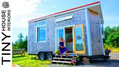 Absolutely Beautiful Dawn's Harmony House Tiny House is for sale Morso Wood Stove, Tiny House Family, Airbnb Rentals, Composting Toilet, Interior Work, Sleeping Loft, Water Systems, Tiny House On Wheels, Water Tank