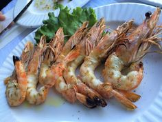 Greek Recipes, Shrimp, Seafood, Food Porn, Appetizers, Food And Drink, Yummy Food, Fish, Meat