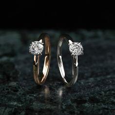 Sami Laatikaisen suunnittelemat Sofia-timanttisormukset. Upeat yksikiviset Sofiat 0,60 G/VS1 -timanteilla. Nämäkin Kohinoor-sormukset on valmistettu kierrätyskullasta Hämeenlinnassa! Wedding Rings, Engagement Rings, Jewelry, Enagement Rings, Jewlery, Jewerly, Schmuck, Jewels, Jewelery