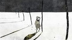 Kielitiettyni (The Tongueling)  Wooden knocks are echoing in a frozen landscape when a lonesome man is searching for a tongueling of his own.  4;15 min  Hand-drawn animation  Direction: Elli Vuorinen Animation: Elli Vuorinen Script: Elli Vuorinen Editing: Elli Vuorinen Sound design: Elli Vuorinen, Jani Lehto Music: Jani Lehto