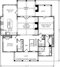 Boulder Summit - Home Plans and House Plans by Frank Betz Associates 2 Bedroom House Plans, Basement House Plans, Walkout Basement, Basement Ideas, Small House Floor Plans, Best House Plans, 1500 Sq Ft House, Frank Betz, Summit Homes