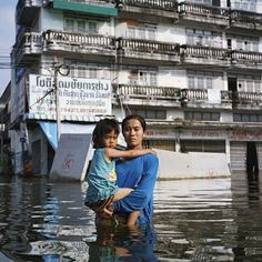 Gideon Mendel's 'Drowning World' series, an ongoing global project about flooding, is now showing at the East Wing Galleries at Somerset House from May 10th to June 5th 2012. He writes: 'Since 2007 I have visited six countries (The UK, India, Haiti, Pakistan, Australia and Thailand) that have been