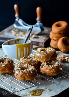 Brown Butter Sweet Potato Doughnuts