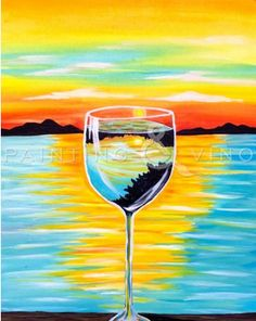 """Vacation"" Thursday April 16th, 2015 6-9pm at the Hilton (Del Mar). There are still 5 seats left! Come paint with us! Just click the picture to follow the link!"