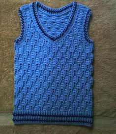 Crochet cable baby boy vest, crochet chart Crochet: Baby and Child Sweaters. Free, online baby sweaters, cardigans, and jackets crochet charts Crochet Men, Gilet Crochet, Crochet Vest Pattern, Crochet Cable, Crochet For Boys, Crochet Patterns, Crochet Chart, Crochet Vests, Crochet Winter