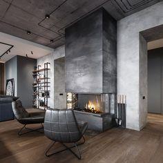 New loft design project Interior Design Career, Black Interior Design, Home Interior, Interior Architecture, Budget Home Decorating, Interior Decorating Styles, Diy Home Decor, Design Loft, Villa Design