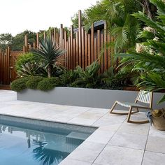 Having a pool sounds awesome especially if you are working with the best backyard pool landscaping ideas there is. How you design a proper backyard with a pool matters. Pool Fence, Backyard Fences, Backyard Landscaping, Backyard Ideas, Pool Backyard, Fence Ideas, Landscaping Ideas, Pool Retaining Wall, Tropical Pool Landscaping