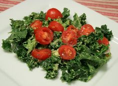 Massaged Kale Salad - A massage and salad, all in one!