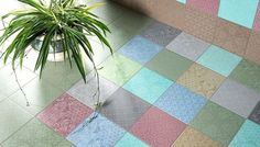 parisian tile design images   Minoo is the tile collection by Marcel Wanders. The hand-painted tiles ...