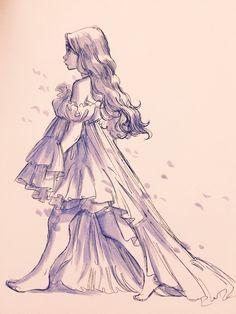 18 Trendy Art Sketches Girl To Draw Art Drawings Sketches, Cartoon Drawings, Cartoon Art, Cute Drawings, Anime Art Fantasy, Pretty Art, Cute Art, Arte Sketchbook, Drawing Poses