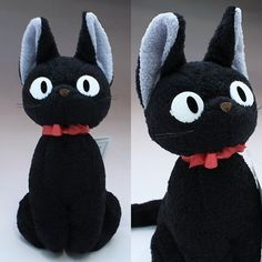 kiki's delivery service jiji Plush Doll M size Studio Ghibli Japan by Sunarrow * Want additional info? Click on the image. (This is an affiliate link) #PlushFigures
