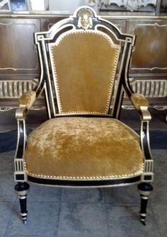 Gotischer Prunksessel von Royal Classics Stilmöbel auf DaWanda.com