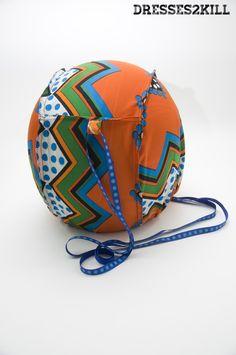 Funda Casco Yesterday * Yesterday Helmet Bag  www.dresses2kill.com  Dresses2Kill - Handmade Clothing