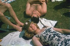 Hulton-Deutsch Collection/Corbis 1942. The first week of June 1942 was hotter than usual, reaching 29.4 degrees Celcius on the 6th. Londoners took advantage of the heat to sunbathe in the parks.   Read more: http://lightbox.time.com/2012/08/21/london-portrait-of-a-city-photo-history/#ixzz2Lii9QXsPA Photographic History of London by Taschen – TIME LightBox - LightBox