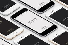 This is a perspective iPhone 6 Psd with scalable vector shape to display your designs on a iPhone 6 Psd device....