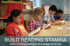 40 passages to help your students' build reading stamina