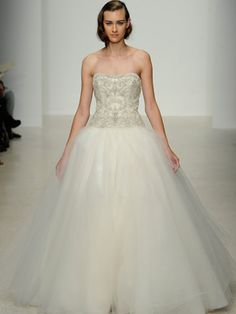 A Ballroom Wedding Dress By Kenneth Pool Regal Is The Name Of Game