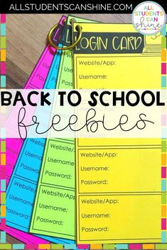 Back To School *GOODIES* - All Students Can Shine