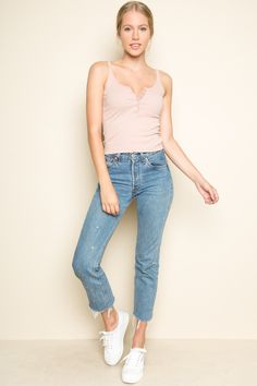 Brandy ♥ Melville | Simone Tank - Tops - Clothing