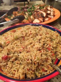 Spanish Rice for Taco Bar