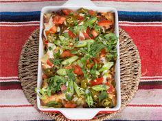 Spicy enchiladas med kjøttdeig bakt i ovnen Frisk, Tex Mex, Lunches And Dinners, Enchiladas, Avocado Toast, Vegetable Pizza, Guacamole, Spicy, Tacos