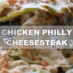 Low Carb Chicken Philly Cheesesteak One Skillet Meal (Keto Friendly) - Easy & Delicious  Low Carb Chicken Recipe / Keto Chicken Recipe / Keto Recipe / Low Carb Recipe #keto #ketodiet #lowcarb #ketogenic #weightloss #ketogenic