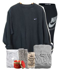 A fashion look from November 2016 featuring NIKE, ugg socks and apple iphone case. Browse and shop related looks. H M Outfits, Lazy Day Outfits, College Outfits, Simple Outfits, Everyday Outfits, Outfits For Teens, Casual Outfits, Fashion Outfits, Lace Denim Shorts